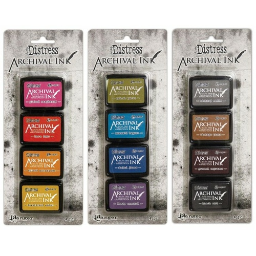 Tim Holtz Distress Archival Mini Ink Pad Collection #1