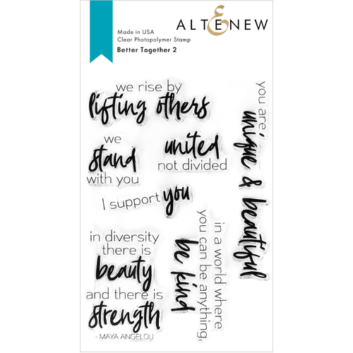 Altenew Better Together 2 Stamp Set