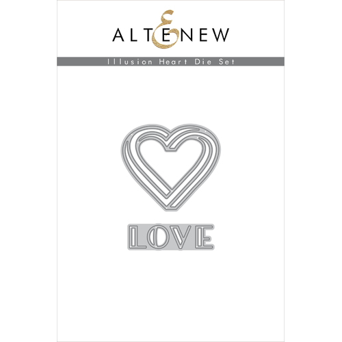 Altenew Illusion Heart Die Set