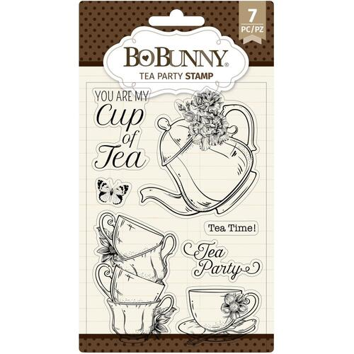 Bo Bunny Tea Party Clear Stamps