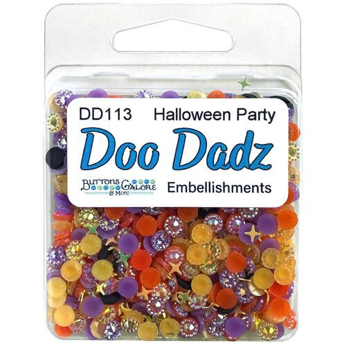Buttons Galore Halloween Party Doodadz Embellishments