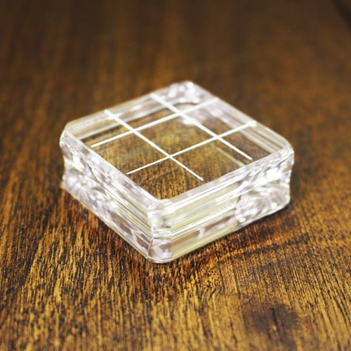 "Catherine Pooler Acrylic Grid Stamping Block #2 1.5"" x 1.5"""