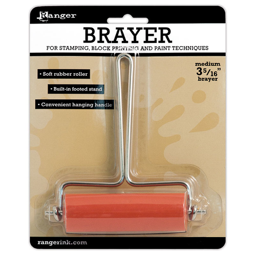 Ranger Inkssentials Inky Roller Brayer Medium 3.3""