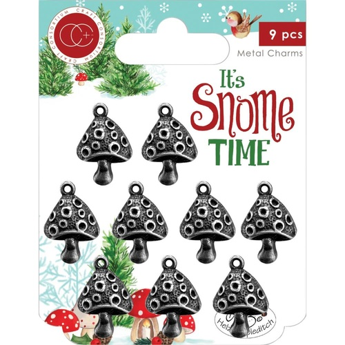 Craft Consortium It's Snome Time Charms Toad Stool