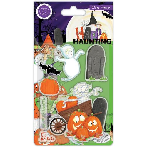 Craft Consortium Happy Haunting Pumpkins Stamp Set