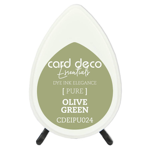 Couture Creations Card Deco Essentials Dye Ink Pad Olive Green