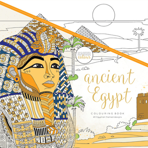 Kaisercolour Perfect Bound Colouring Book Ancient Egypt