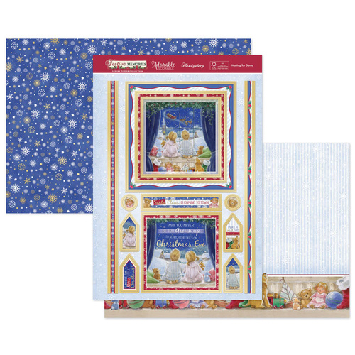 Hunkydory Festive Memories Luxury Topper Set Waiting for Santa