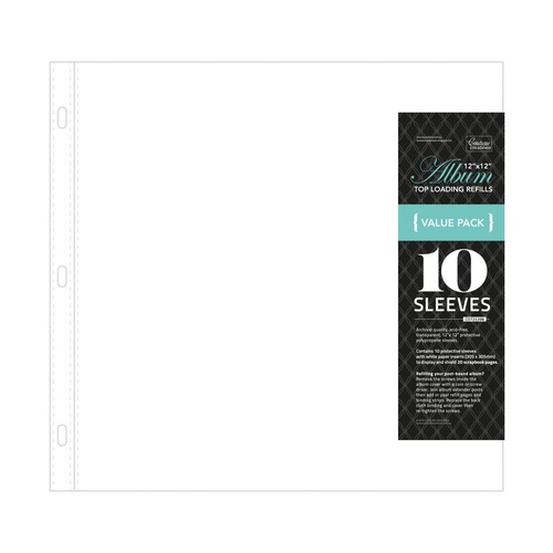 "Couture Creations 12"" Album Refill Pages 10pk"