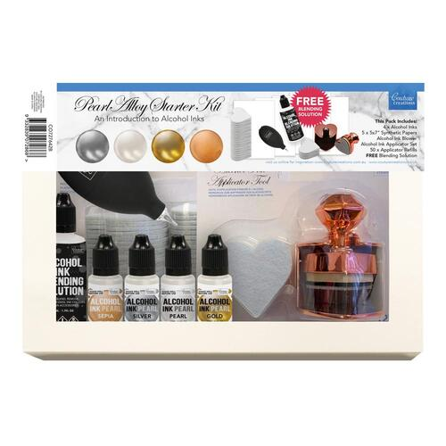 Couture Creations Alcohol Ink Pearl Alloy Starter Kit
