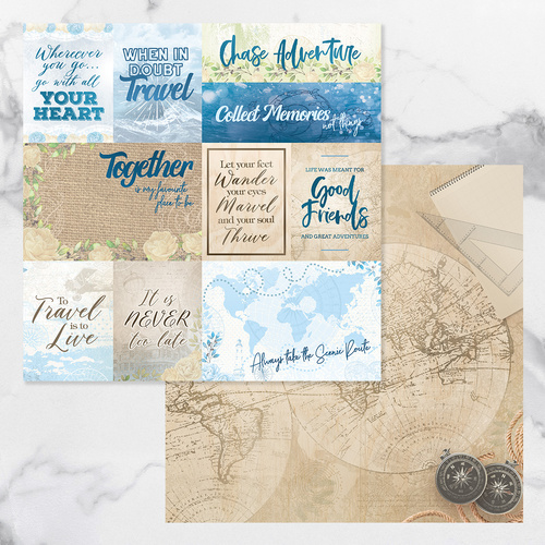 Couture Creations New Adventures Paper #11