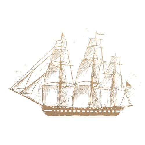Couture Creations New Adventures Mini Stamp Sailboat