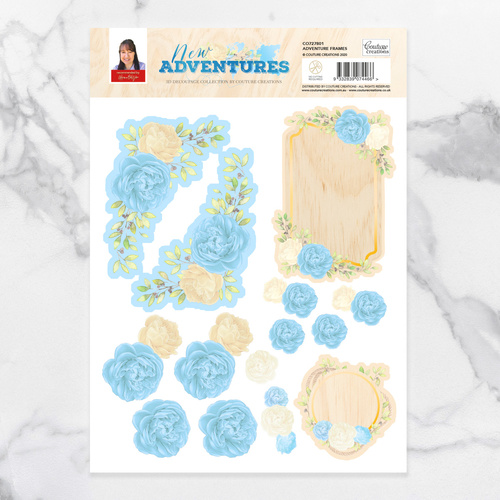 Couture Creations New Adventures A4 Decoupage Set Adventure Frames