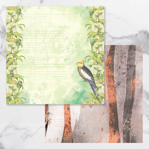 Couture Creations Sweeping Plains Paper #08