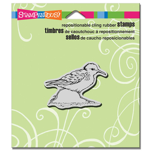 Stampendous Cling Stamp Small Sandpiper