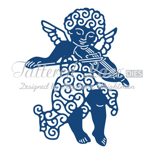Tattered Lace Die Cherub
