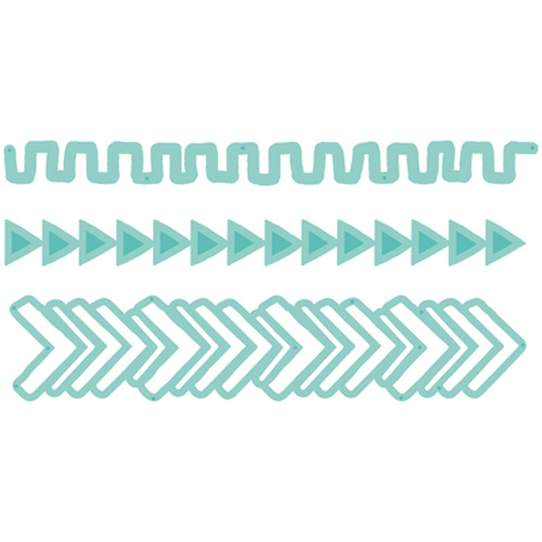 Kaisercraft Decorative Die Tribal Strips