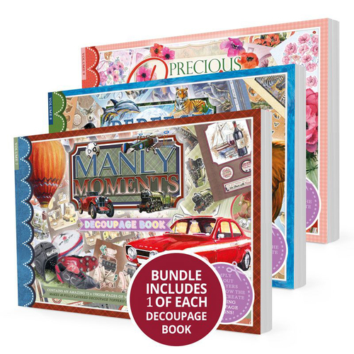Hunkydory Decoupage Book September 2020 I Want it All Bundle