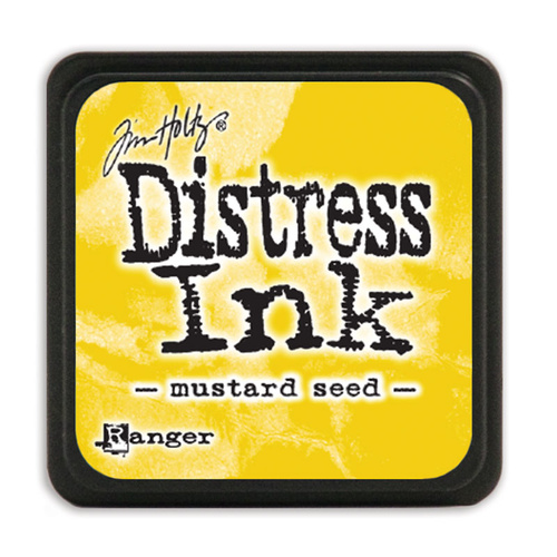 Tim Holtz Distress Mini Ink Pad Mustard Seed