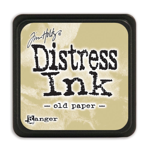 Ranger Distress Mini Ink Pad Old Paper by Tim Holtz