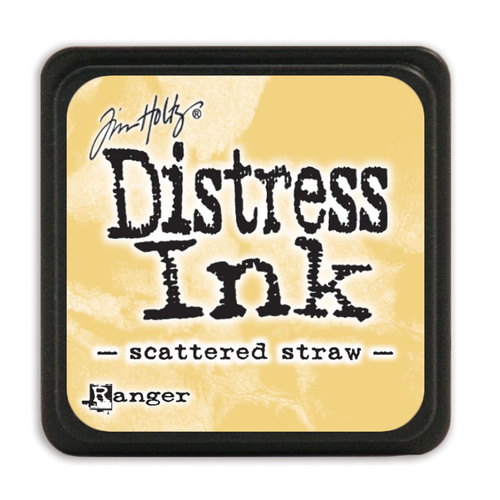 Ranger Distress Mini Ink Pad Scattered Straw by Tim Holtz