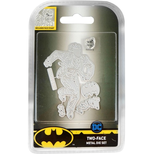 DC Comics Batman Die & Stamp Set Two Face