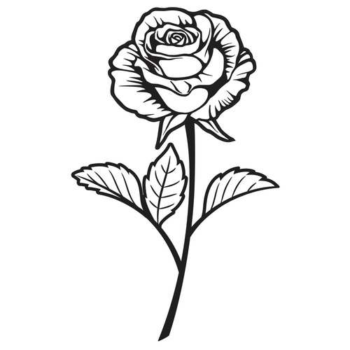 Darice Embossing Folder Single Rose