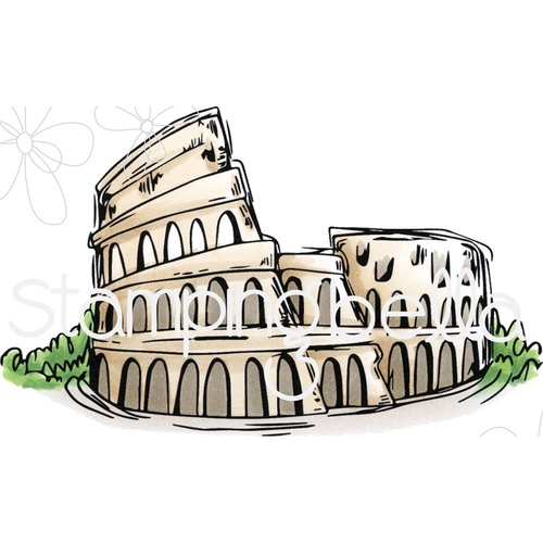 Stamping Bella Cling Stamp Rosie & Bernie's Colosseum