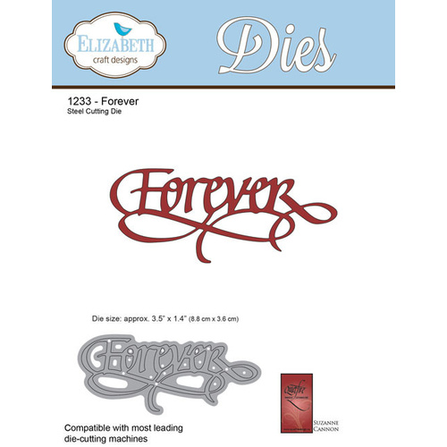 Elizabeth Craft Designs Die A Way With Words Forever by Suzanne Cannon