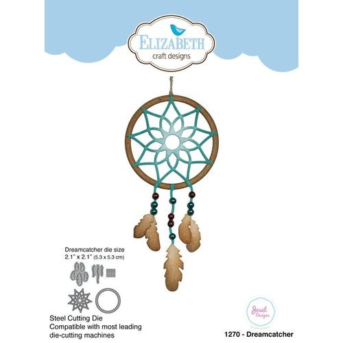 Elizabeth Craft Designs Die Dreamcatcher by Joset Designs