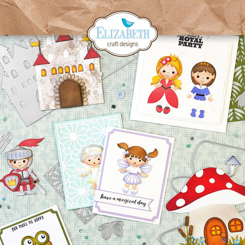 Elizabeth Craft Designs Storybook Collection I Want It All Bundle