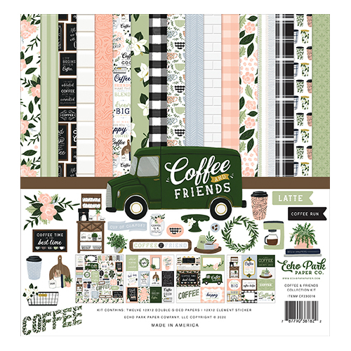 "Echo Park Coffee & Friends 12"" Collection Kit"