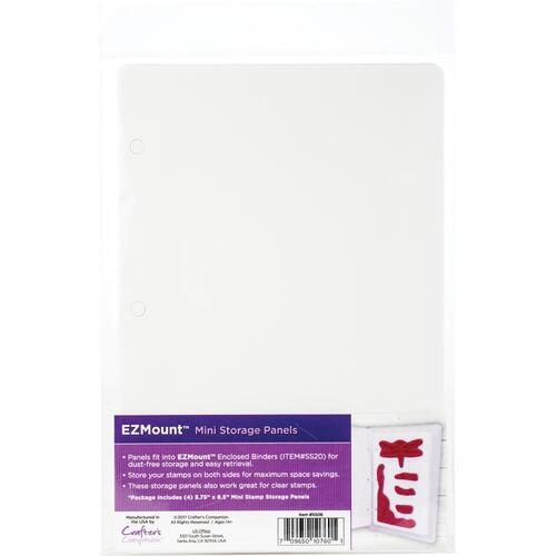 EZ Mount Stamp Storage Panels 4pk