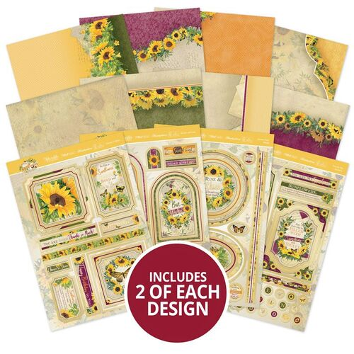 Hunkydory Forever Florals Sunflower Luxury Topper Collection