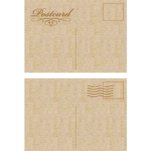Kaisercraft Wooden Flourishes Postcards
