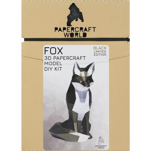 Papercraft World Fox 3D Papercraft Model