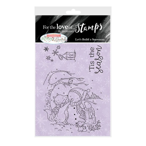 Hunkydory For the Love of Stamps Let's Build a Snowman