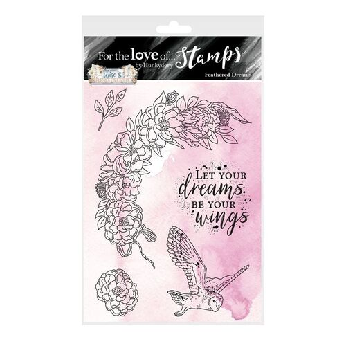 Hunkydory For the Love of Stamps Feathered Dreams