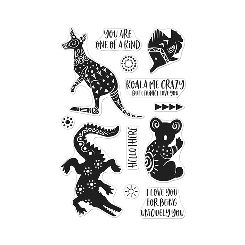 Hero Arts Stamp Patterned Animals