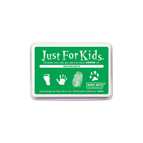 Hero Arts Just for Kids Washable Green Ink Pad