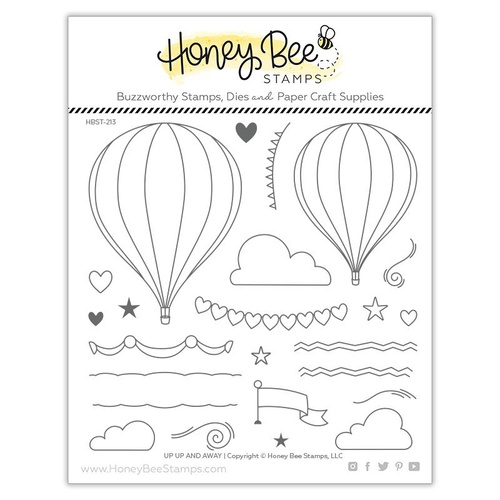 Honey Bee Stamp Up, Up and Away