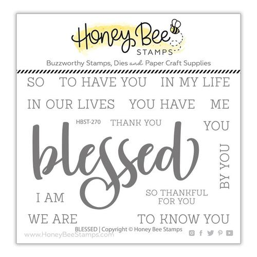 Honey Bee Blessed Stamp