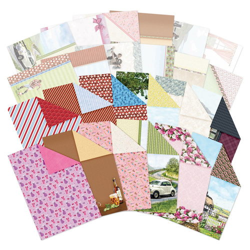 Hunkydory Happiness is... Luxury Card Inserts & Paper Pack