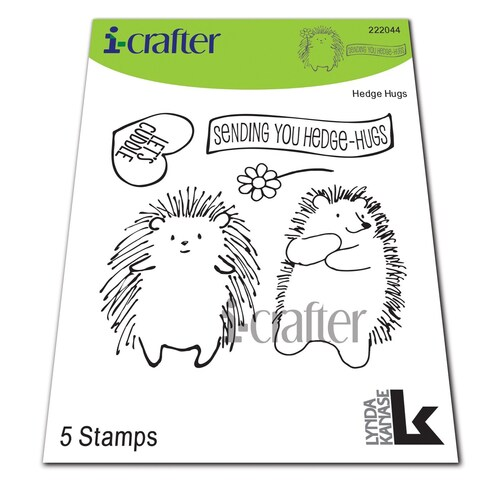 i-crafter Stamp HedgeHugs