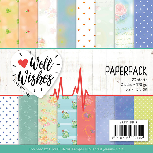 "Find It Trading Well Wishes 6"" Paperpack"