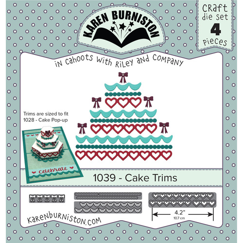 Karen Burniston Die Cake Trims