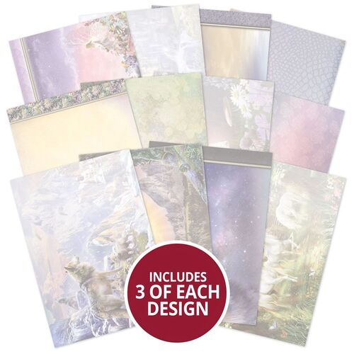 Hunkydory Land of Enchantment Coordinating Inserts