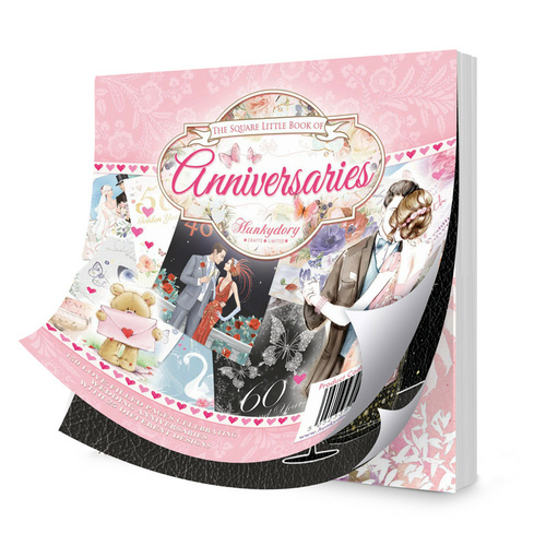 Hunkydory The Square Little Book of Anniversaries