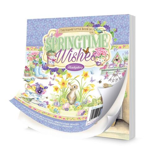 Hunkydory The Square Little Book of Springtime Wishes