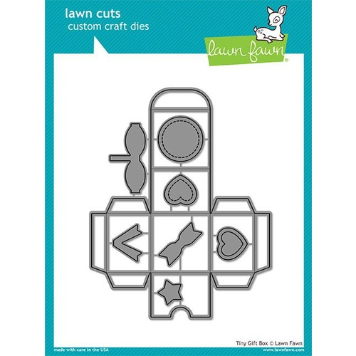 Lawn Fawn Lawn Cuts Die Tiny Gift Box